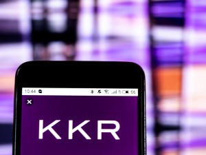KKR On Phone Screen