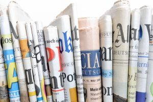 Image of different newspapers