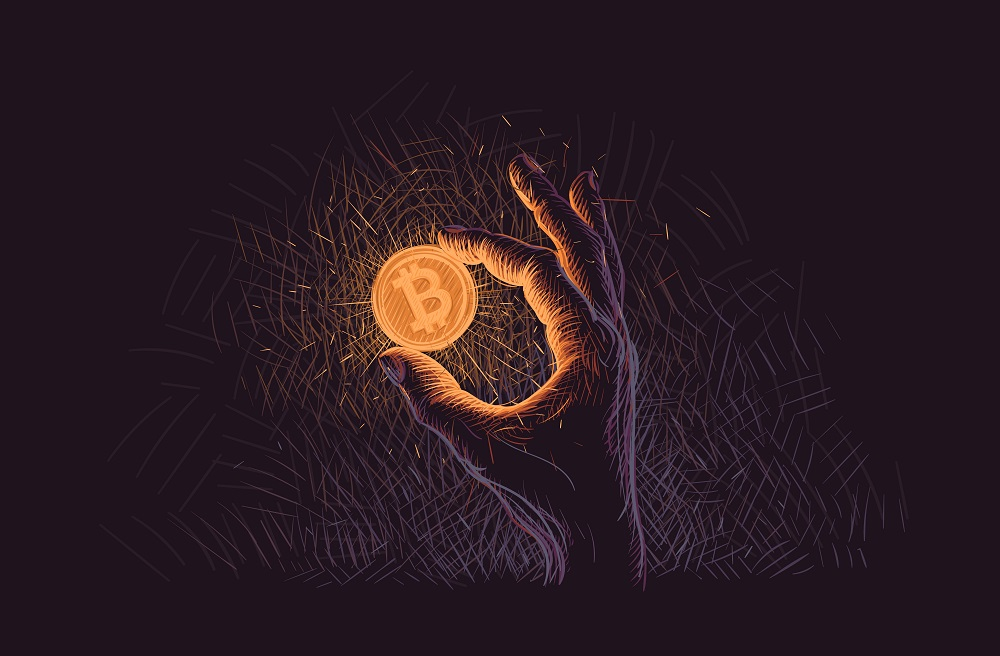 The upcoming bitcoin halving and brewing financial chaos are creating a perfect storm for bitcoin prices.